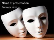 Thater Mask PowerPoint Templates
