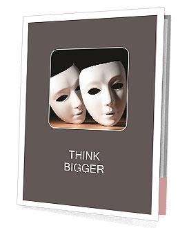 Thater Mask Presentation Folder