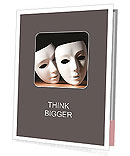 Thater Mask Presentation Folder