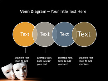 Thater Mask PowerPoint Template - Slide 12