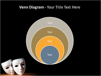 Thater Mask PowerPoint Template - Slide 14