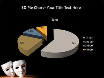 Thater Mask PowerPoint Template - Slide 15