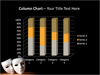 Thater Mask PowerPoint Template - Slide 30