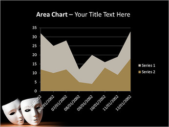 Thater Mask PowerPoint Template - Slide 33