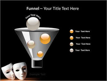 Thater Mask PowerPoint Template - Slide 43