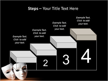 Thater Mask PowerPoint Template - Slide 44