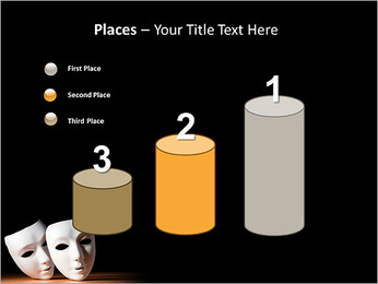 Thater Mask PowerPoint Template - Slide 45