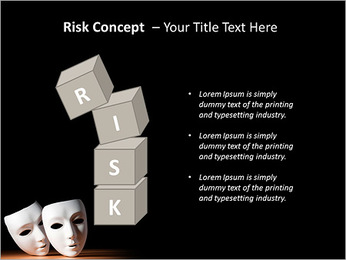 Thater Mask PowerPoint Template - Slide 61