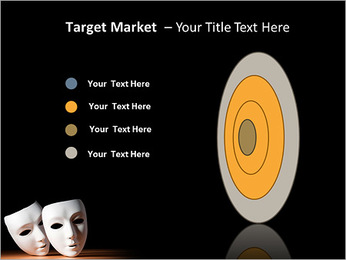 Thater Mask PowerPoint Template - Slide 64