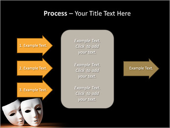 Thater Mask PowerPoint Template - Slide 65