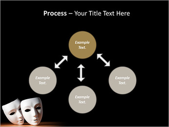 Thater Mask PowerPoint Template - Slide 71