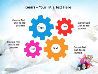 Winter Sled PowerPoint Templates - Slide 27