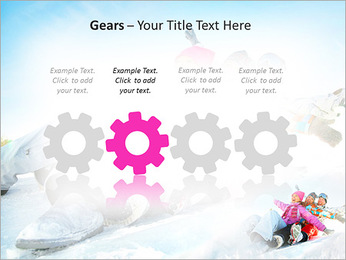 Winter Sled PowerPoint Templates - Slide 28