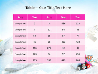 Winter Sled PowerPoint Templates - Slide 35