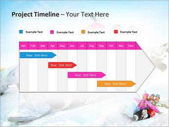 Winter Sled PowerPoint Templates - Slide 5
