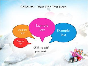 Winter Sled PowerPoint Templates - Slide 53