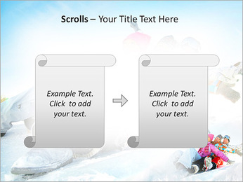 Winter Sled PowerPoint Templates - Slide 54