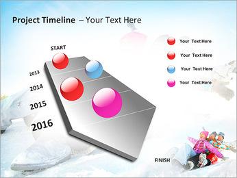 Winter Sled PowerPoint Templates - Slide 6