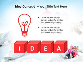 Winter Sled PowerPoint Templates - Slide 60