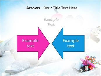 Winter Sled PowerPoint Templates - Slide 70