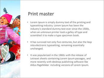 Winter Sled PowerPoint Templates - Slide 76
