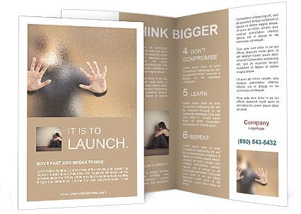 Lost People Brochure Template