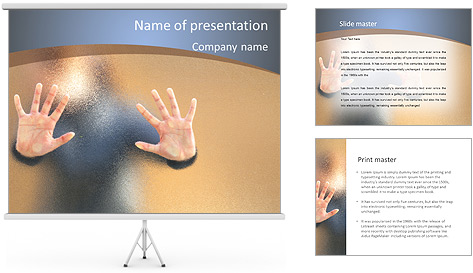 Lost People PowerPoint Template