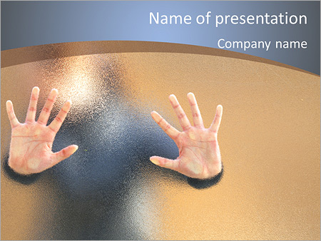 Lost People PowerPoint Templates