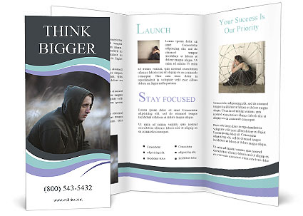 Junkie Brochure Template