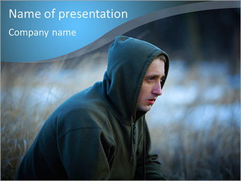 Junkie PowerPoint Template - Slide 1