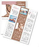 Tanned Face Newsletter Templates