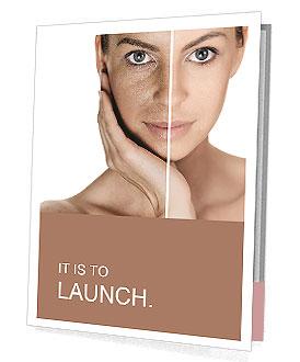 Tanned Face Presentation Folder