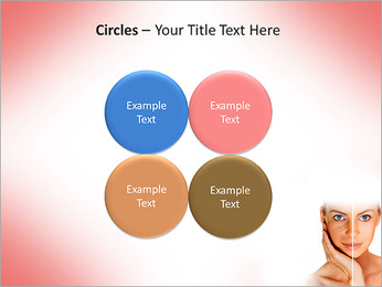 Tanned Face PowerPoint Templates - Slide 18