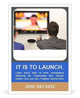 TV Program Ad Template