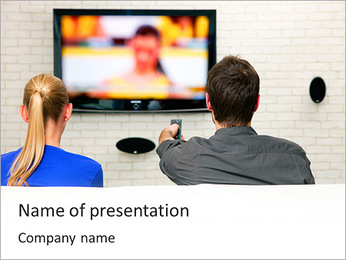 TV Program PowerPoint Template