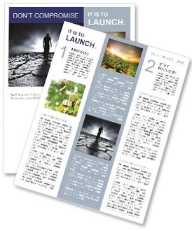 Dry Soil Newsletter Templates