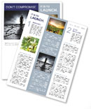 Dry Soil Newsletter Template