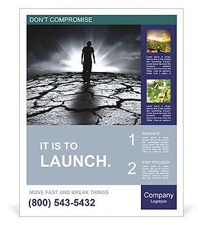 Dry Soil Poster Template