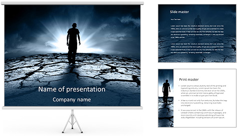 Dry Soil PowerPoint Template