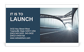 Bridge Business Card Template