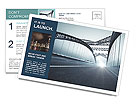 Bridge Postcard Template