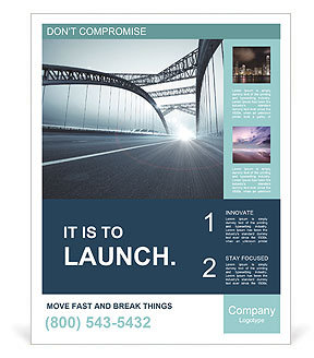 Bridge Poster Template