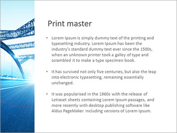 Bridge PowerPoint Template - Slide 76