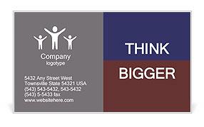 Murder Victim Business Card Template