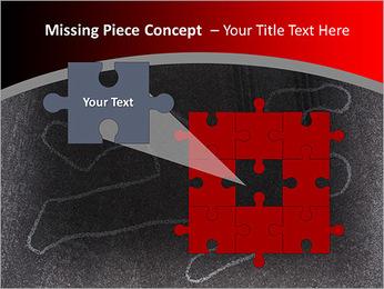 Murder Victim PowerPoint Template - Slide 25
