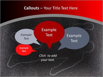 Murder Victim PowerPoint Template - Slide 53