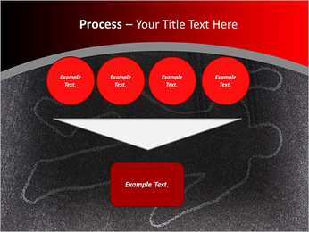 Murder Victim PowerPoint Template - Slide 73