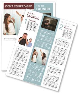 Sister Quarrel Newsletter Template