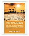 Pollution Issue Ad Templates