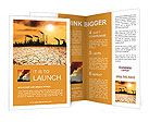 Pollution Issue Brochure Templates